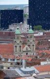 Basílica del corazón sagrado de Jesús en Zagreb Imagen de archivo libre de regalías