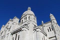 Basílica del corazón sagrado en París fotografía de archivo libre de regalías