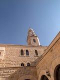 Basílica del Dormition en el monte Sion en Jerusalén Imagen de archivo