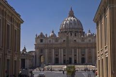 Basílica del `s de San Pedro Foto de archivo libre de regalías