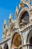 Basílica del ` s de St Mark en Venecia imágenes de archivo libres de regalías