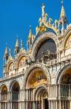 Basílica del ` s de St Mark en Venecia, Italia imagenes de archivo