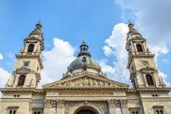 Basílica del ` s de StStephen Budapest, Hungría Imagen de archivo libre de regalías