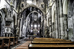 Basílica del santo Procopius en Trebic Fotografía de archivo libre de regalías