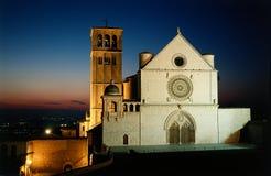 Basílica del St. Francisco de Assisi fotos de archivo