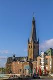 Basílica del St Lamberto, Düsseldorf, Alemania Fotos de archivo
