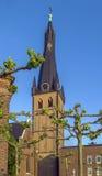 Basílica del St Lamberto, Düsseldorf, Alemania Imagen de archivo