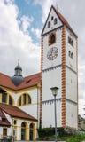 Basílica del St Mang, Fussen Fotos de archivo libres de regalías