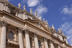 Basílica del St Peters Fotos de archivo libres de regalías