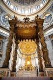 Basílica del St. Peters (Roma, Italia) Foto de archivo libre de regalías