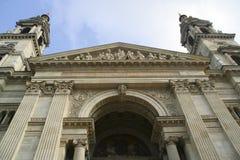 Basílica del St Stephen en Budapest, Hungría Imágenes de archivo libres de regalías
