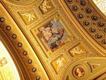 Basílica del St. Stephen interior imagen de archivo libre de regalías