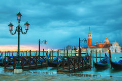 Basílica Di San Giorgio Maggiore em Veneza Foto de Stock Royalty Free