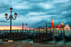 Basílica Di San Giorgio Maggiore em Veneza Imagens de Stock Royalty Free