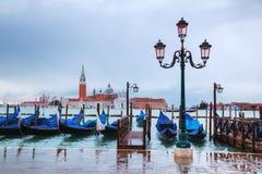 Basílica Di San Giorgio Maggiore em Veneza, Itália Foto de Stock Royalty Free