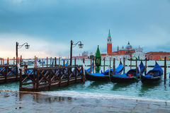 Basílica Di San Giorgio Maggiore em Veneza, Itália Imagem de Stock