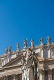 Basílica di San Pietro em Vaticano Fotos de Stock Royalty Free
