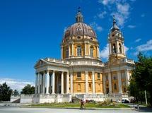Basílica di Superga Foto de Stock Royalty Free