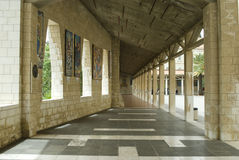 Basílica do aviso em Nazareth imagem de stock royalty free