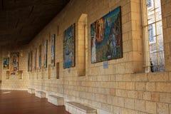 Basílica do aviso, Nazareth fotografia de stock