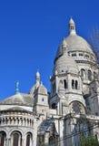 A basílica do coração sagrado de Paris Fotografia de Stock Royalty Free