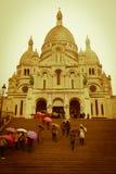 Basílica do coração sagrado de Paris, Paris Fotografia de Stock Royalty Free