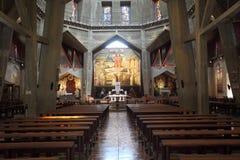 Basílica do nível superior do aviso foto de stock