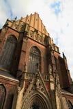 Basílica do nysa do St Jacob e da Agnes imagens de stock