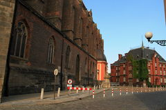 Basílica do nysa do St Jacob e da Agnes fotos de stock