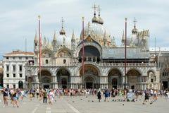 Basílica do ` s de St Mark de Veneza - Itália imagem de stock