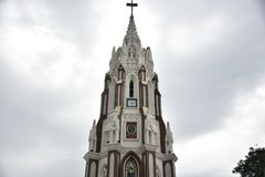 Basílica do ` s de St Mary, Bangalore, Karnataka foto de stock royalty free