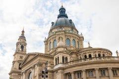 Basílica do ` s de St Stephen em budapest Hungria imagens de stock