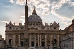 Basílica do `s do St Peter imagem de stock
