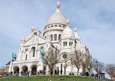 Basílica do Sacré Coeur Fotos de Stock Royalty Free
