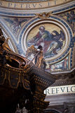 Basílica do St. Peter fotos de stock