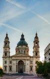 Basílica do St. Stefan em Budapest, Hungria imagens de stock