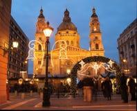 Basílica do St Stephen Fotografia de Stock Royalty Free