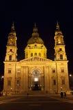 Basílica do St. Stephen em Budapest Fotos de Stock