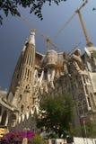 Basílica e igreja expiatória da família santamente Foto de Stock Royalty Free