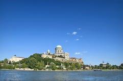 Basílica em Esztergom Fotografia de Stock