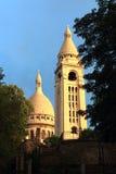 Basílica em Paris Fotografia de Stock