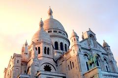 Basílica em Paris Fotos de Stock Royalty Free