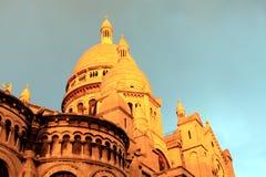 Basílica em Paris Imagens de Stock