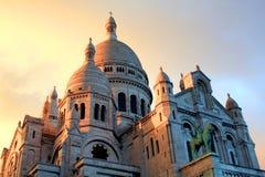 Basílica em Paris Foto de Stock Royalty Free