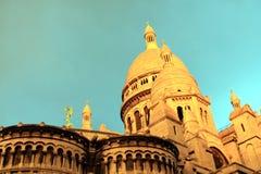 Basílica em Paris Imagem de Stock Royalty Free