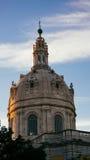 A basílica em Portugal fotografia de stock royalty free