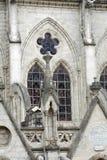 Basílica em Quito, Equador fotografia de stock royalty free
