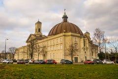 Basílica en Bydgoszcz, Polonia Imagen de archivo libre de regalías
