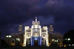 Basílica en Cartago, Costa Rica Foto de archivo