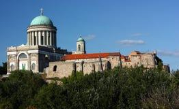 Basílica en Esztergom (Hungría) imágenes de archivo libres de regalías